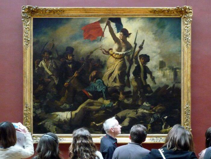 Photo of Liberty Leading the People at Louvre